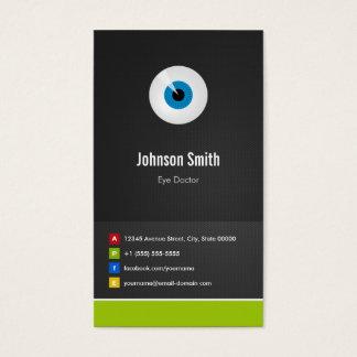 Cartes De Visite Ophtalmologiste de soin d'oeil - innovateur