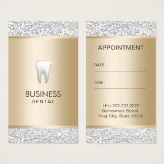 Extrêmement Cartes de visite Dentiste personnalisées | Zazzle.fr BG44
