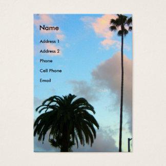Cartes De Visite palmiers