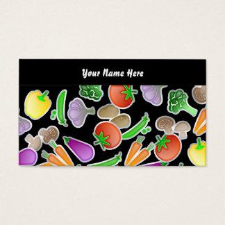 Cartes De Visite Papier peint végétal, votre nom ici