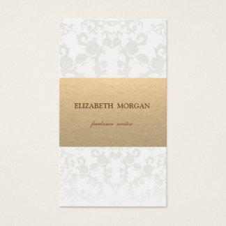 Cartes De Visite Papier vintage de Brown emballage