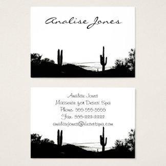 Cartes De Visite Paysage de désert