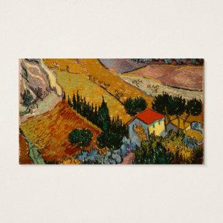 Cartes De Visite Paysage de Vincent van Gogh | avec la Chambre et