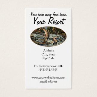 Cartes De Visite Personnaliser de station de vacances