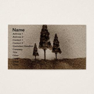 Cartes De Visite Petits arbres