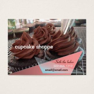 Cartes De Visite petits gâteaux de chocolat