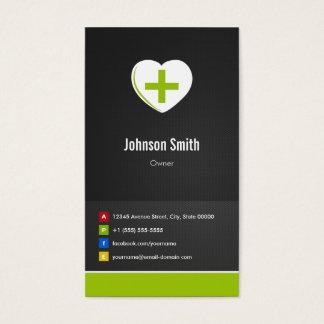 Cartes De Visite Pharmacie - innovateur créatif de soins médicaux