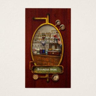 Cartes De Visite Pharmacie - le mixologist 1905