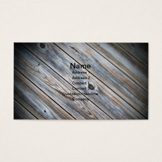Cartes De Visite photo abstraite d'une plate-forme en bois portée
