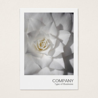 Cartes De Visite Photo instantanée 088 - camélia blanc