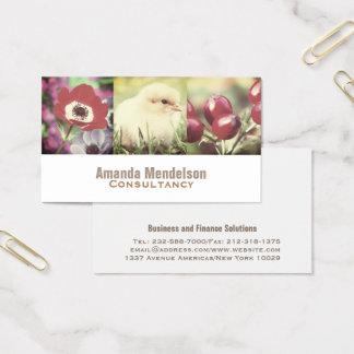 Cartes De Visite Photo personnalisable x3