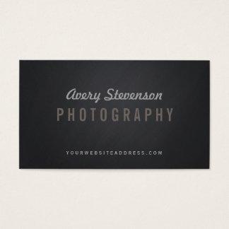 Cartes De Visite Photographe vintage de hanche de typographie âgé