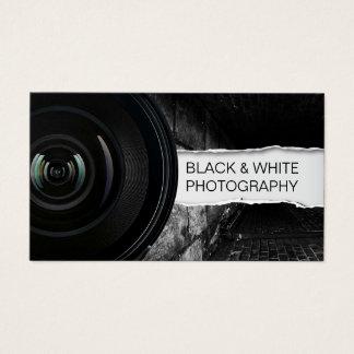 Cartes De Visite Photographie noire de photographe et blanche