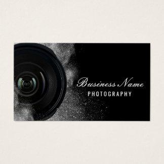 Cartes De Visite Photographie noire et blanche d'appareil-photo de