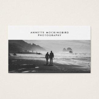 Cartes De Visite Photographie professionnelle de minimaliste de