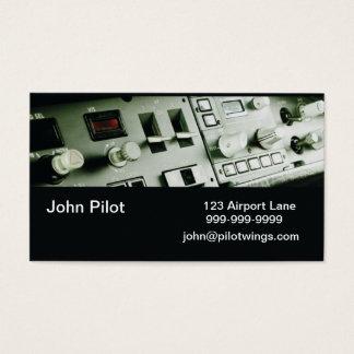 Cartes de visite pilotes d'instruments