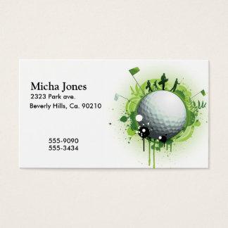 Cartes De Visite Piquons pour le golf
