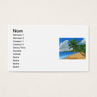 Cartes De Visite plage
