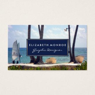 Cartes De Visite Plage des Caraïbes