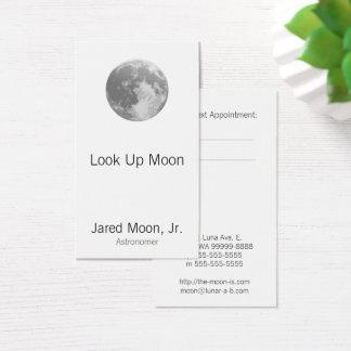 Cartes De Visite Pleine lune