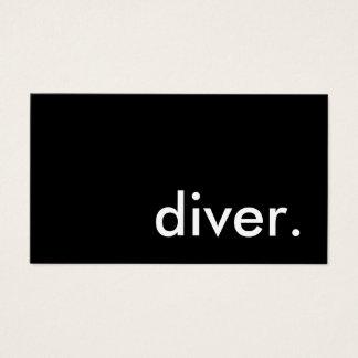 Cartes De Visite plongeur