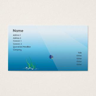 Cartes De Visite Plongeur - affaires