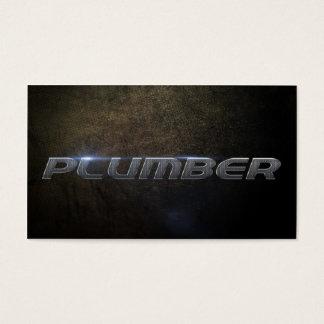 Cartes De Visite Plumber Business card