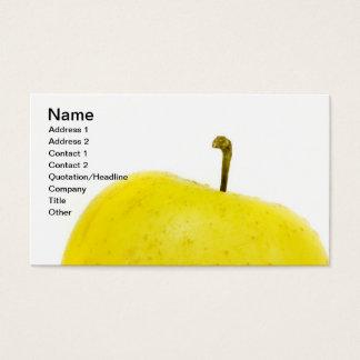 Cartes De Visite Pomme d'or verte