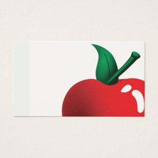 Cartes De Visite pomme par jour