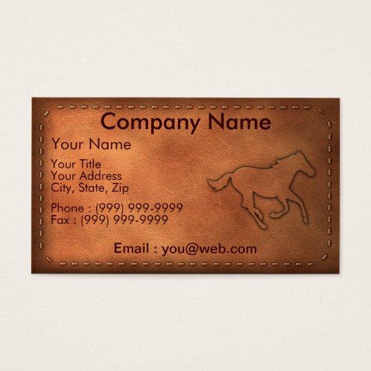 Cartes De Visite Pony Express