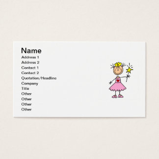 Cartes De Visite Princesse With Wand