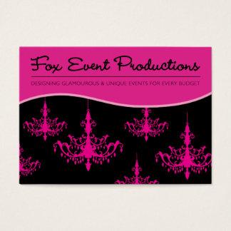 Cartes De Visite Productions d'événement de Fox