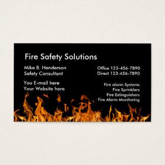 Cartes De Visite Produits de sécurité incendie