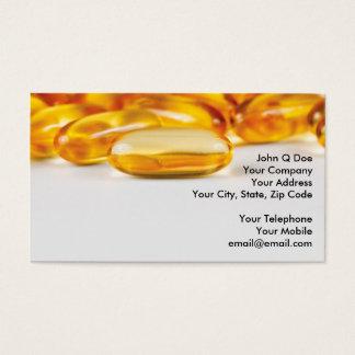 Cartes De Visite Produits de vitamines et de santé