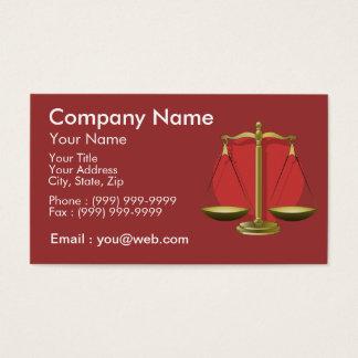 Cartes De Visite Profession avocat
