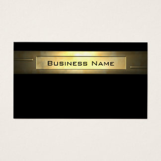 Cartes De Visite Professionnel des affaires 2 d'or