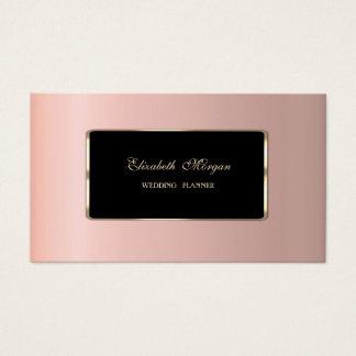 Cartes De Visite Professionnel élégant de luxe élégant
