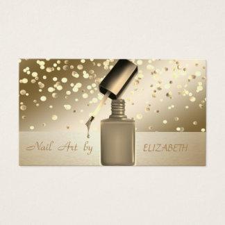 Cartes De Visite Professionnel élégant, moderne, confettis, salon