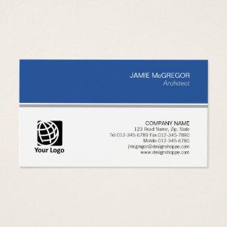 Cartes De Visite Professionnel minimal simple de construction