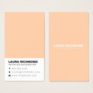 Cartes De Visite Professionnel simple de décorateur intérieur de
