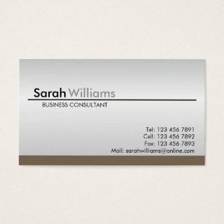 Cartes de visite professionnels