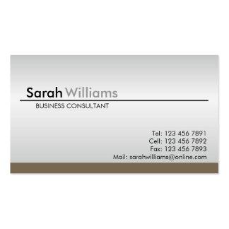 Cartes de visite professionnels carte de visite standard