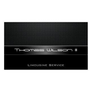 Cartes de visite professionnels de limousine de carte de visite standard