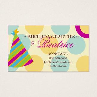 Cartes De Visite PRUNE de PLANIFICATEUR de la PARTIE 311-BIRTHDAY