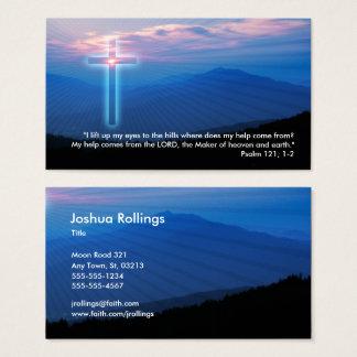 Cartes De Visite Psaume 121 ; 1 chrétiens de 2 % pipe%