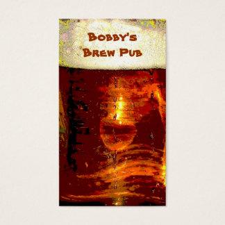 Cartes De Visite Pub de Brew
