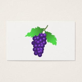 Cartes De Visite Raisins