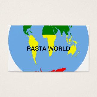 CARTES DE VISITE RASTA WORLD