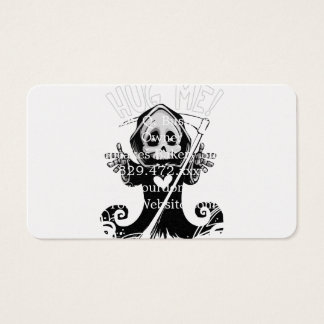 Cartes De Visite Reaper-bébé mignon de Reaper-bande dessinée de