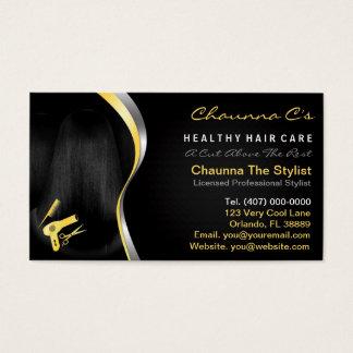Cartes De Visite Rendez-vous d'esthéticien de styliste de salon de